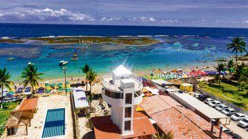De ensueño. Las tranquilas y templadas playas de este punto del litoral brasileño.