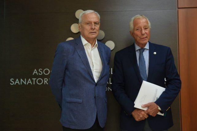 El ministro Parola con Roberto Villavicencio