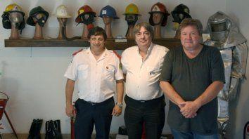 Los creadores. Hugo Capacio, Gerardo Boiocchi y Ricardo Kohan.
