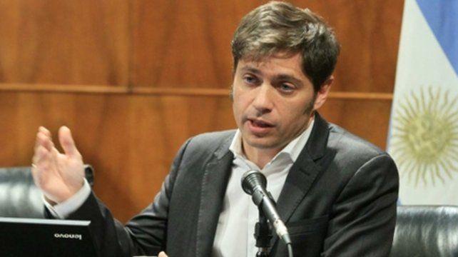 réplica. Axel Kicillof salió a cuestionar a los legisladores bonaerenses del macrismo.