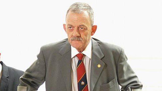 Seriedad. Sarnaglia dijo que hay tolerancia cero para la corrupción.
