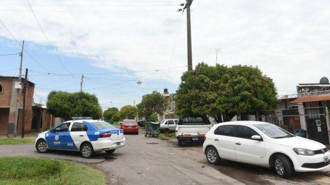 Pineda y Alzugaray, donde ocurrió el doble homicidio el miércoles.