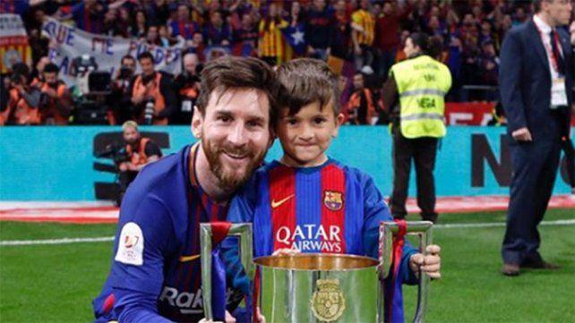 El golazo de Thiago Messi que sacudió las redes