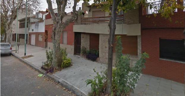 La vivienda de Villa Devoto donde hallaron asesinada a golpes Inés Adriana Caruso, el 1º de enero.