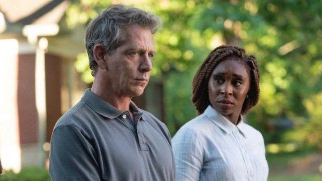 Los detectives. Ben Mendelsohn y Cynthia Erivo van tras las engañosas pistas del asesinato de un niño.