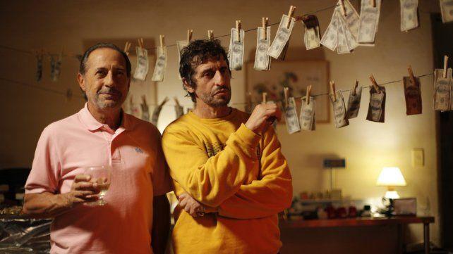 Socios. Guillermo Francella interpreta a Luis Vitette y Diego Peretti le da vida a Fernando Araujo.