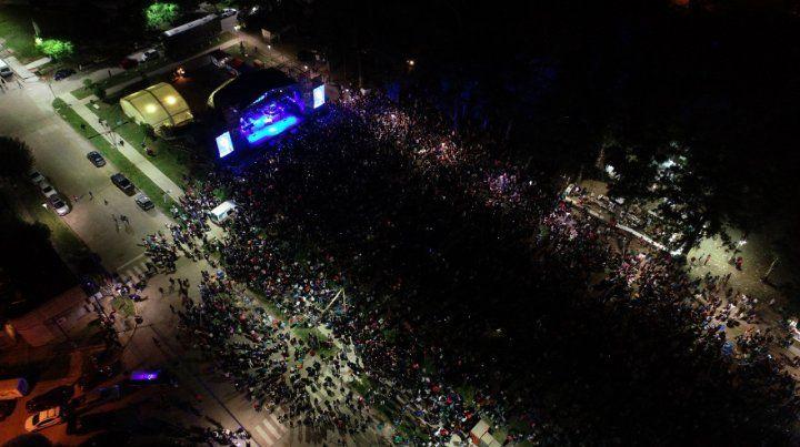Masivo. El festival es uno de los más convocantes de la región.