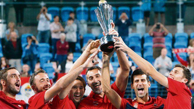 Hay equipo. Los serbios le ganaron a España y se llevaron el torneo de Sidney.