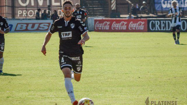 Con proyección. Nicolás Morgantini tiene el visto bueno del entrenador Cocca.