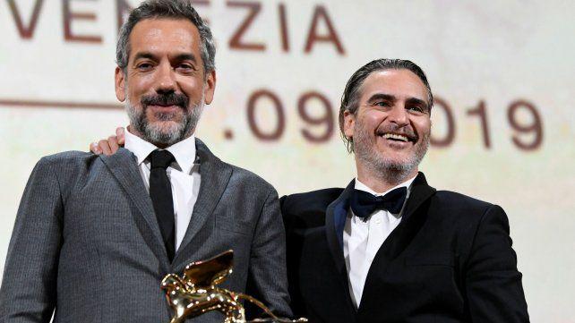 El director Todd Philips y el actor Joaquin Phoenix