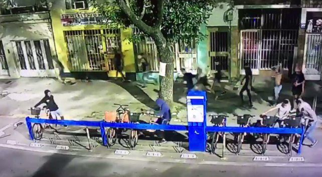 La estación de Barrio Parque