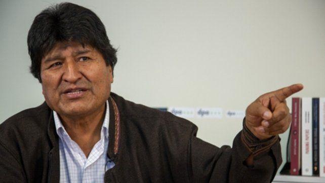 Polémico. Desde su exilio en Argentina