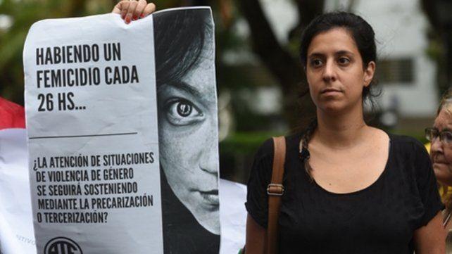 protesta. Organizaciones de mujeres manifestaron su preocupación.