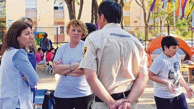 vínculo. La GUM está desarrollando tareas con equipos de proximidad en los barrios Rucci
