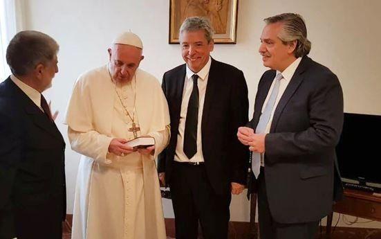 El Papa Francisco recibirá a Alberto Fernández el 31 de enero