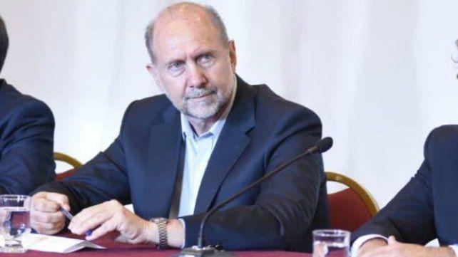 El gobernador habló de la situación de violencia en la provincia.