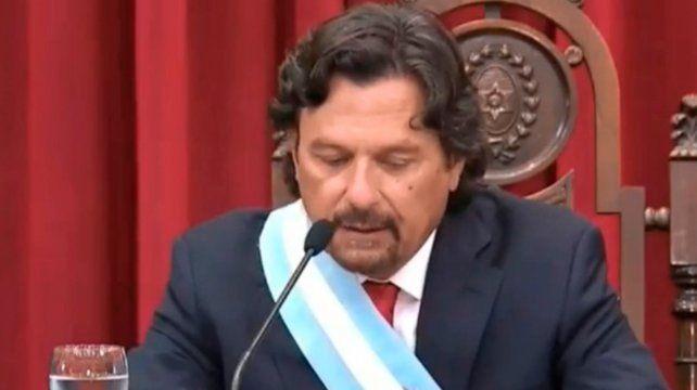 El gobernador de Salta