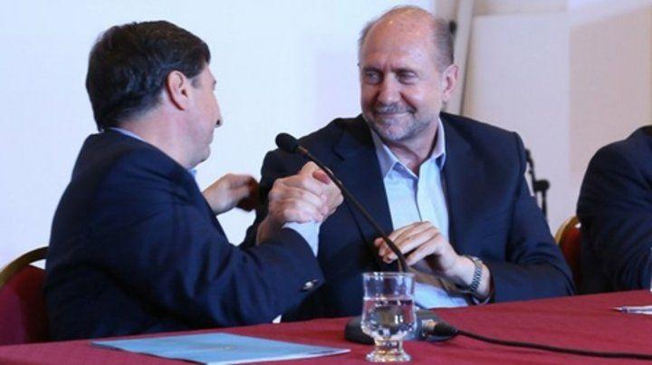 El ministro de Desarrollo Social de la Nación se reunió en Rosario con el gobernador.