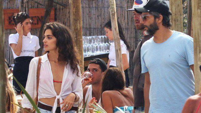 Joaquín Furriel, de vacaciones en Uruguay y en muy buena compañía