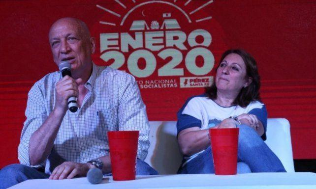 Antonio Bonfatti y Mónica Fein