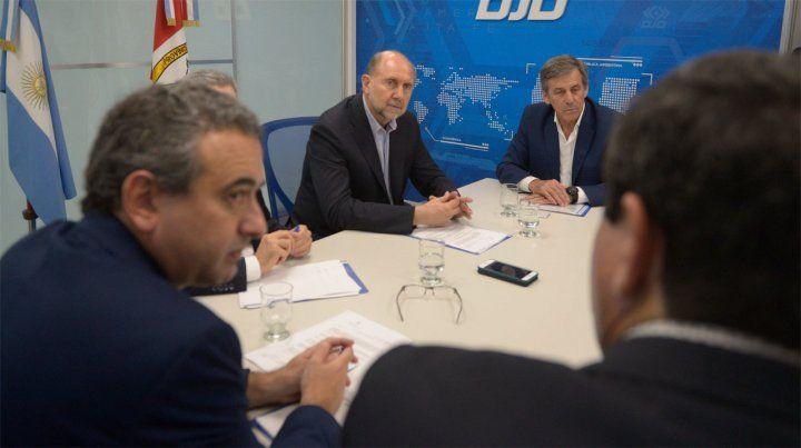 Perotti quiere revisar la forma de trabajo de las fiscalías de la provincia durante enero