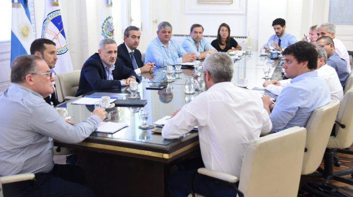 El intendente Pablo Javkin se reunió con el ministro de Seguridad