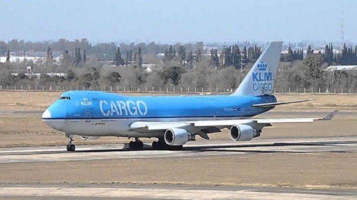 El Boeing 747 matrícula PH-CKA