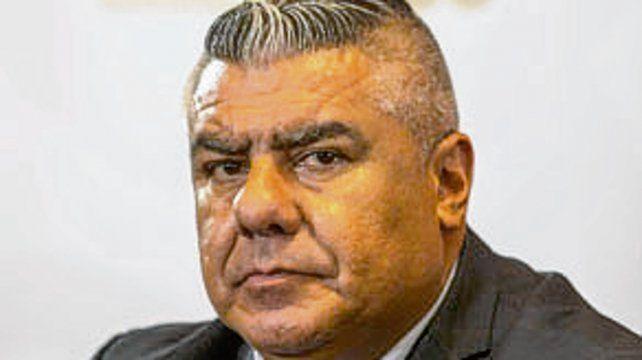 Titular de AFA. Claudio Tapia.