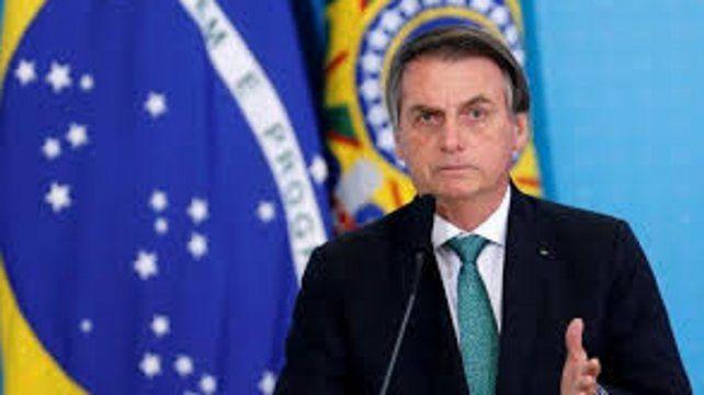 Bolsonaro dijo que Brasil está delante de Argentina