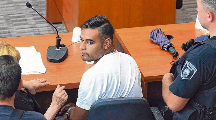 de frente. Maximiliano Díaz fue acusado como partícipe primario del fatal ataque al casino del sábado.