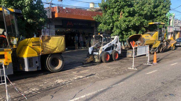La Municipalidad puso en marcha el nuevo plan de bacheo