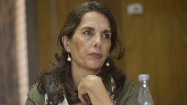 La ministra de Desarrollo Territorial y Hábitat, María Eugenia Bielsa.