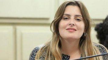 La diputada provincial del Frente Progresista, Lionella Cattalini.