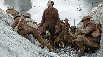 1917. El filme de Sam Mendes transcurre en la Primera Guerra Mundial.