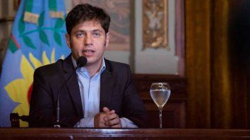 Kicillof. El gobernador de Buenos Aires heredó vencimientos por u$s 9 mil millones en cuatro años.