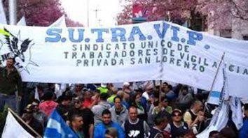 Acuerdo salarial de vigiladores de San Lorenzo