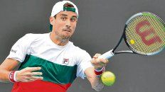 Avanza. El bahiense Guido Pella le ganó al australiano John Smith y jugará en segunda ronda ante el francés Gregoire Barrere.
