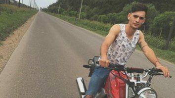 Víctima. Elías fue asesinado el viernes a la noche. Tenía 21 años.