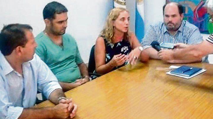 Difusión. El caso movilizó a autoridades comunales y sanitarias.