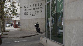 centro asistencial. El hospital donde el chiquito fue asistido.