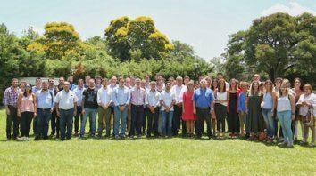 La dirigencia el PS se reunió en Arroyo Leyes (departamento La Capital).