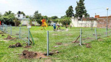 protegida. La plaza de los Ypefianos será adaptada para los niños.