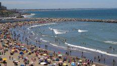Clima a favor. Los 42 km de playas se saturaron de turistas.