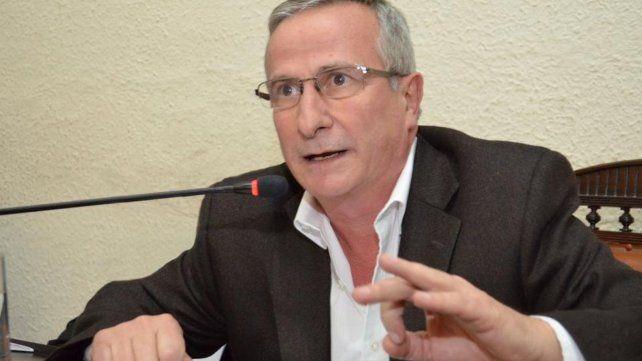 El secretario de Transporte de la provincia, Osvaldo Miatello.