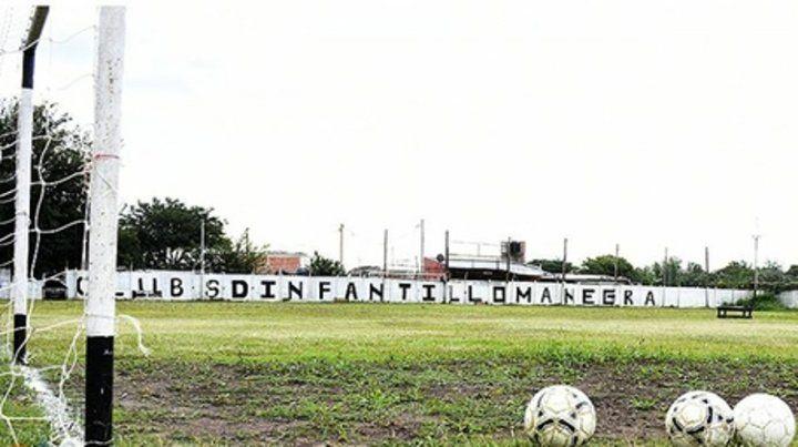 Futbol infantil. El club Loma Negra