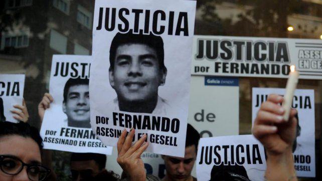 """""""Muchas voces se han hecho presentes frente a este brutal acontecimiento que provocó la inaceptable muerte de Fernando"""""""
