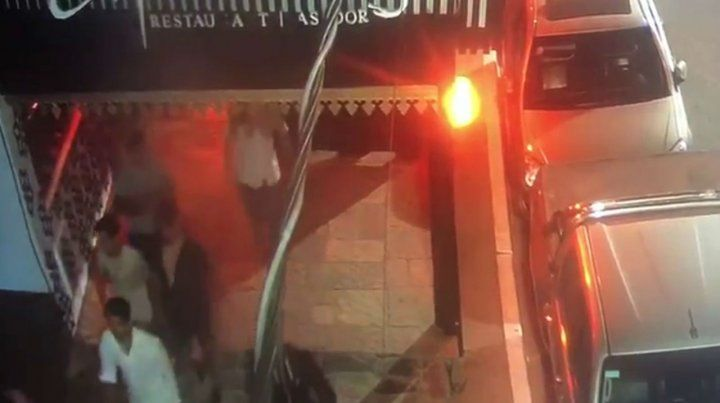 Un video muestra como los rugbiers festejan tras matar a Fernando en Villa Gesell