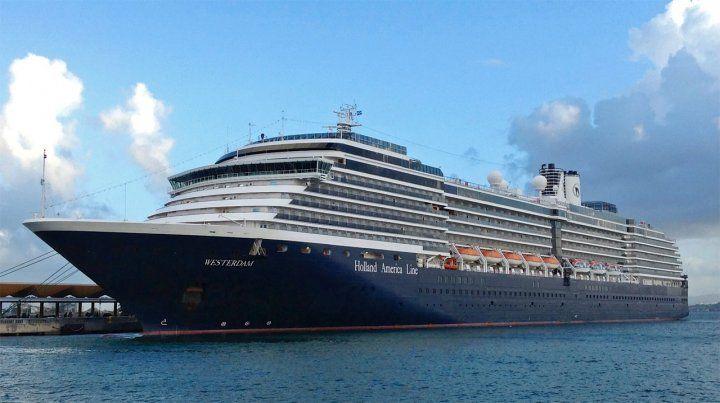 Al Holland America Line le fueron negados permisos en los puertos de Japón