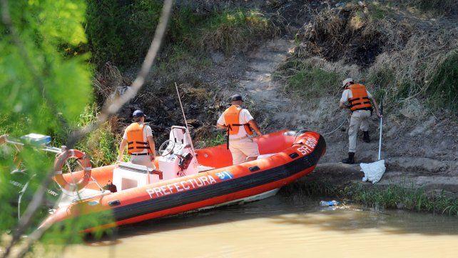 Los restos de la víctima fueron encontrados en el Saladillo entre lunes y martes.