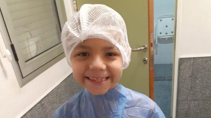 Volvieron a operar al nene que recibió una bala perdida en la cabeza